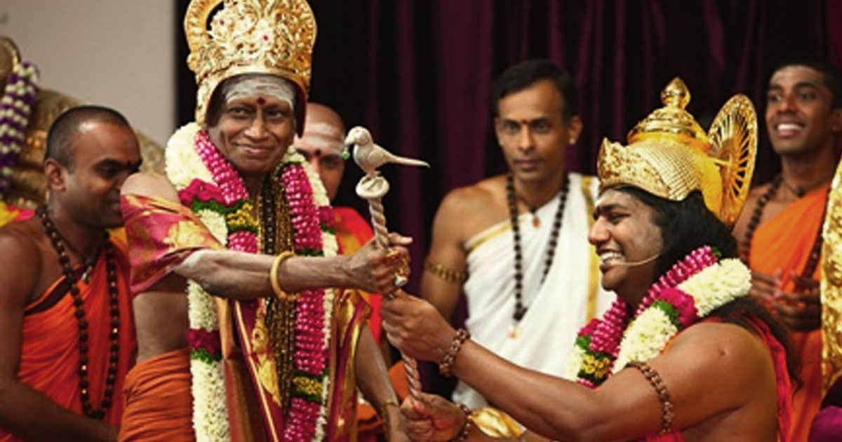 Successor to the Oldest Monastic Order: The Madurai Adheenam