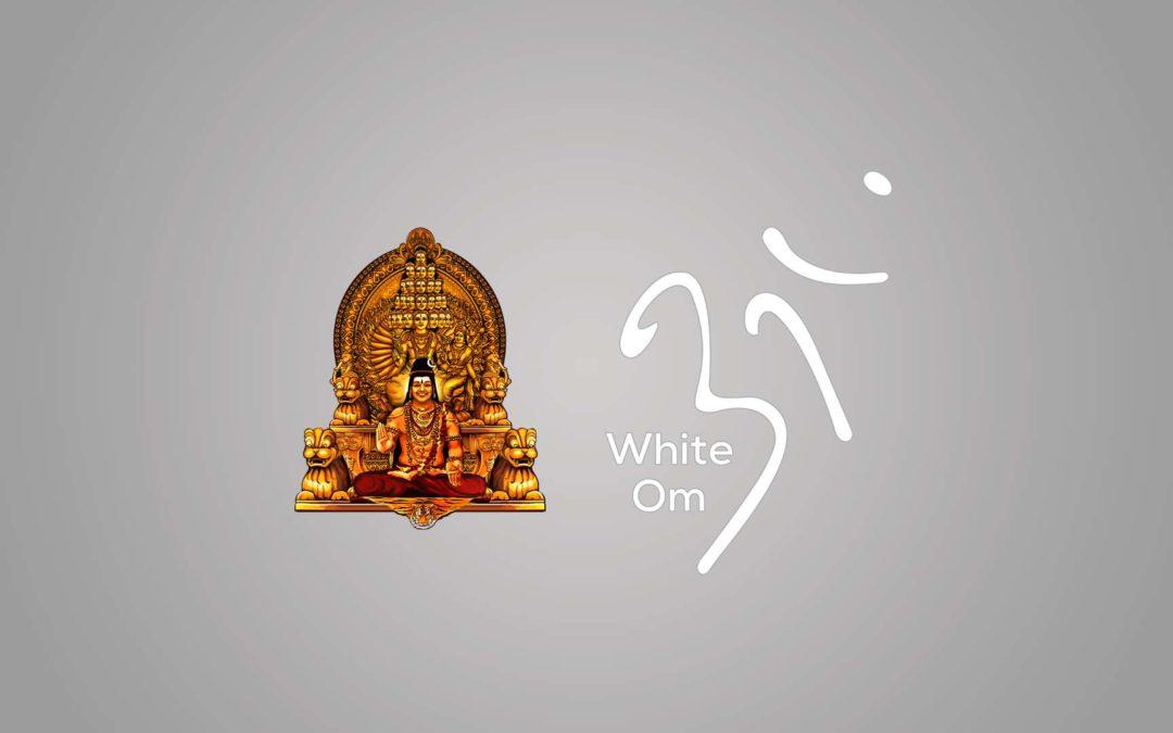 White Om