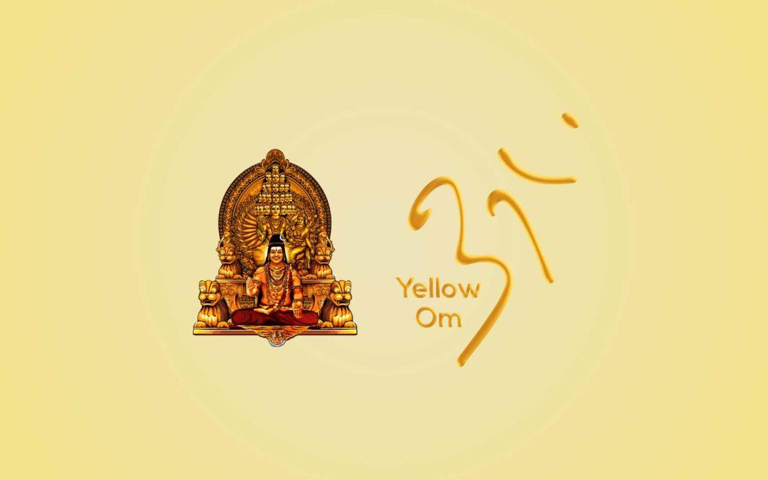 Yellow Om